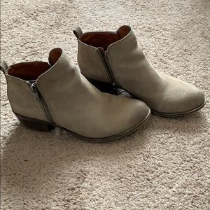 Lucky brand Basel Bootie leather bootie